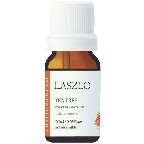 Óleo Essencial de Tea Tree 10 ml - Melaleuca - Orgânico e 100% Puro - Laszlo