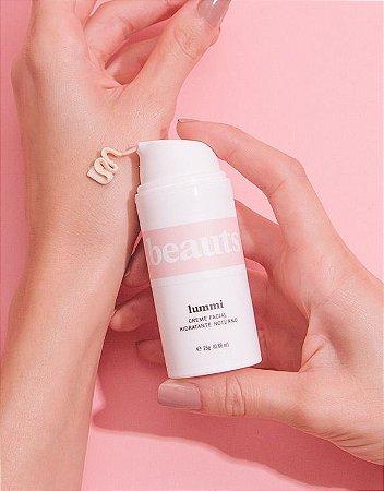 Creme Facial Noturno Hidratante e Clareador 25 g - 100% Natural, Orgânico e Vegano - Beauts