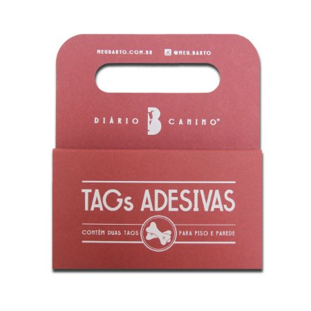 Tags Adesivas Piso e Parede para Tapete Lavável - Bartô