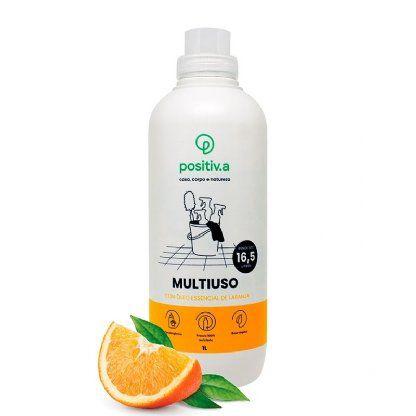 Multiuso Concentrado Vegano Hipoalergênico 1 Litro - Positiv.a