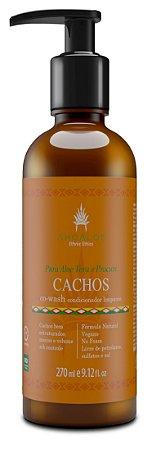 Condicionador Limpante CO-WASH Cachos 270 ml - Natural e Vegano - Ahoaloe