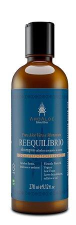 Shampoo Reequilíbrio 270 ml - Natural e Vegano - Ahoaloe