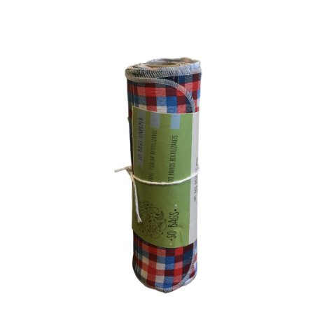 Papel Toalha Reutilizável Estampado 100% Algodão - Durável e Lavável - So Bags