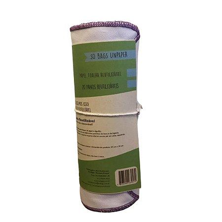 Papel Toalha Reutilizável Liso
