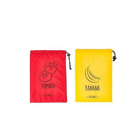 Kit So Bags Tomato + So Bags Banana