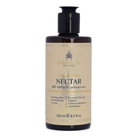 Gel Natural Múltiplos Usos Néctar 250 ml - Pura Aloe Vera - Natural e Vegano - Ahoaloe
