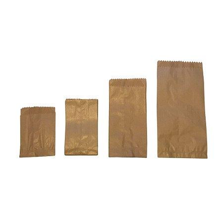 50 Saquinhos de Papel Kraft - Cata Caca - Ecológico e Biodegradável