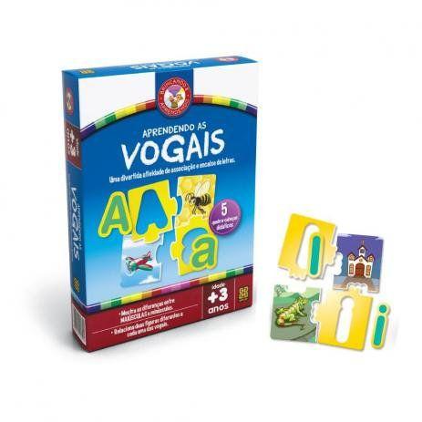 Jogo Aprendendo as Vogais