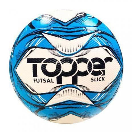 Bola de futsal Slick 2020 Azul - Topper