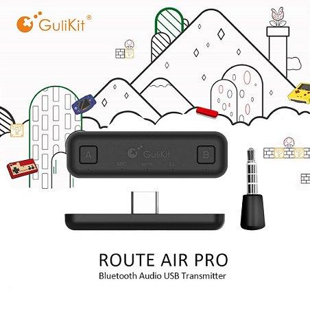 Adaptador Gulikit Air NS07 Pro P/ Fones De Ouvido Switch Ps4 Pc