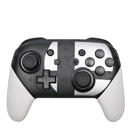 Pro Controller P/ Nintendo Switch Sem Fio PC Vários Temas