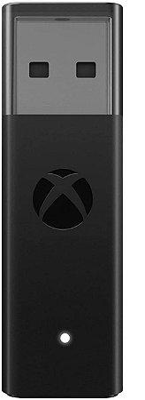 Adaptador Usb Sem Fio P/Controle Xbox One Sx Wireless Pc Windows 10