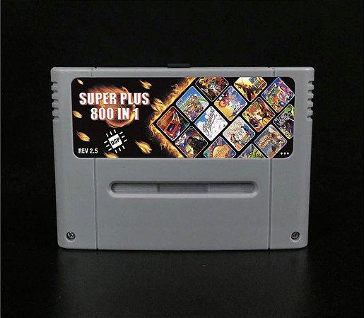 Everdrive Super Nintendo Snes Famicom DSP v2.5 Sd 8 Gb + 800 Jogos