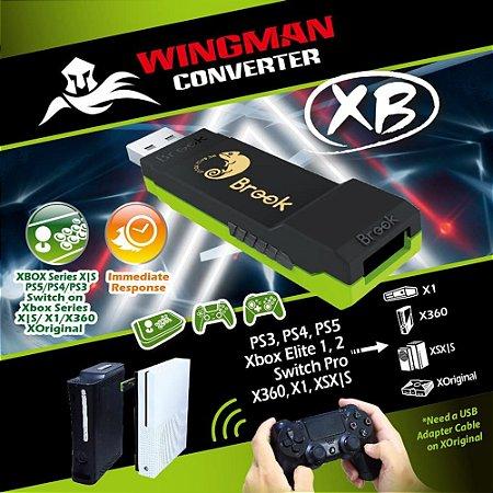 Adaptador Brook Wingman XB Xbox 360 One Elite PS3 PS4 P/Xbox PC
