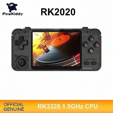 Video Game Portátil Retro Handheld Powkiddy RK2020 Tela 3.5