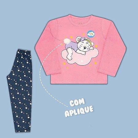 Pijama Manga Longa Ursinha