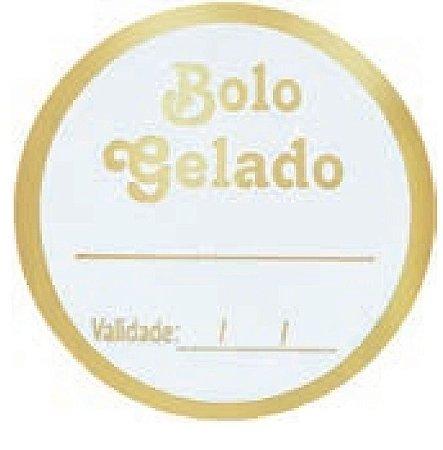 ETIQUETAS BOLO GELADO Pct c/100