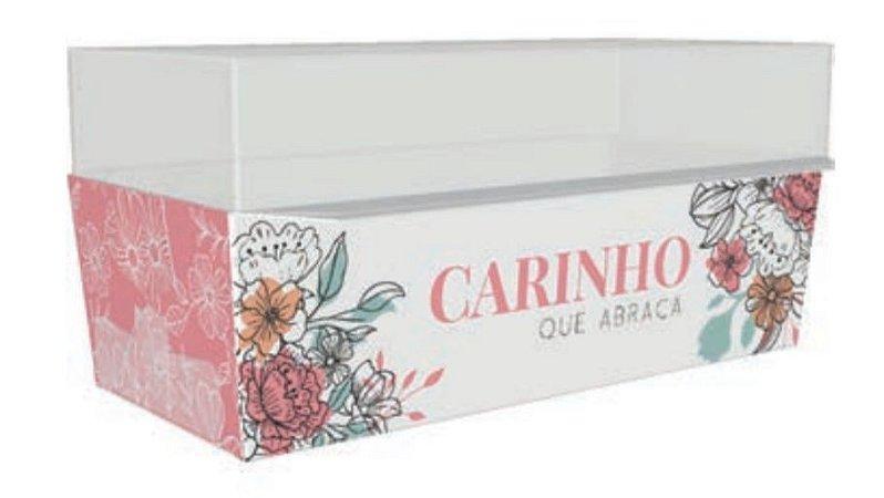 CX MINI BOLO FORNEAVEL CARINHO QUE ABRACA - pct c/10
