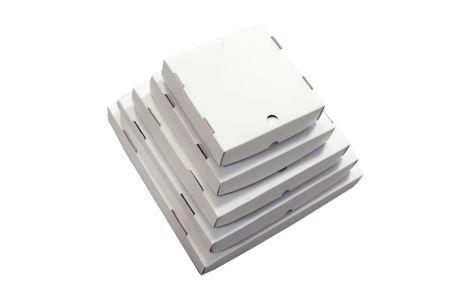 Caixa Quadrada N°2 Branca (25,3 x 25,3 x 5cm)