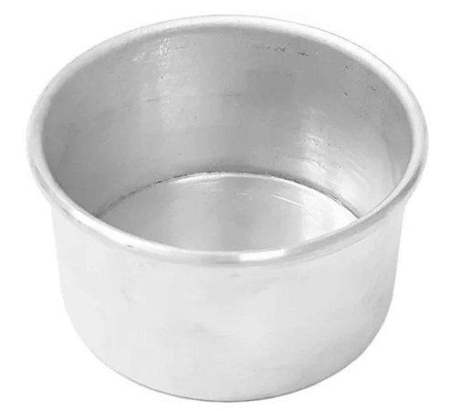Forma Redonda 13 x 5 cm Alumínio W