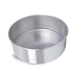 Forma Redonda 30 x 10 cm Alumínio Roldan