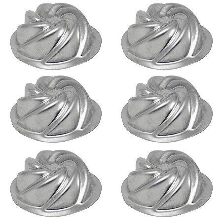 Forma Vulcão Mini pacote com 6 unidades