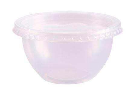 Pote Bowl 250 ml com tampa pct c/20