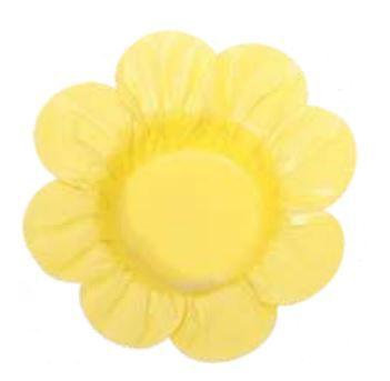 Forminha Miosotis Amarelo Claro c/ 50un Decora Doces