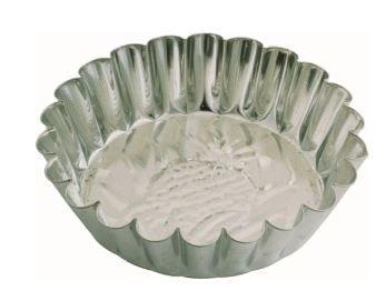 Forma Torta Lateral ondulada fundo abacaxi 24 cm