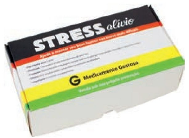 CAIXA PRACTICE STRESS ALIVIO (8 DOCES) pct c/10 unidades