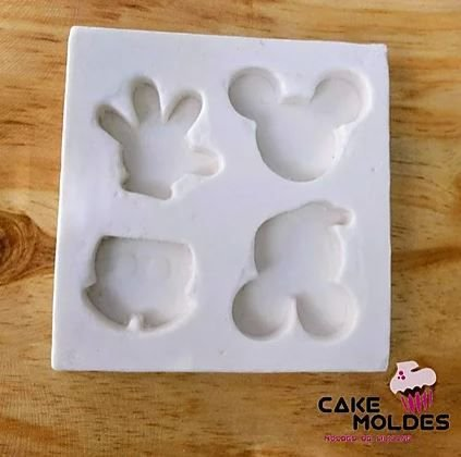 Molde Silicone Micket Tags