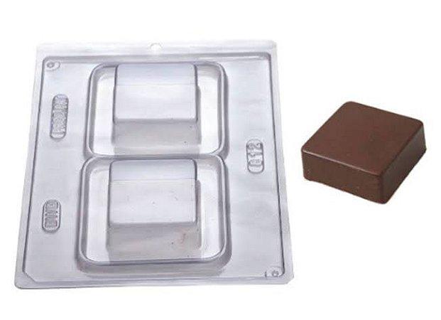 Forma de Acetato Especial pão de mel quadrado