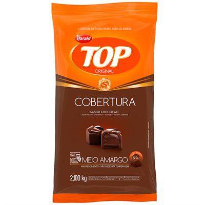 COBERTURA TOP HARALD MEIO AMARGO GOTAS 2,1KG