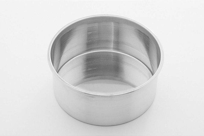 Forma Redonda 9 x 5 cm Alumínio RO