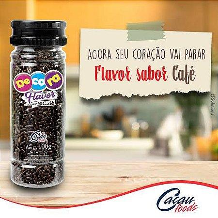 Granulado Sabor Café 100 g Cacau Foods