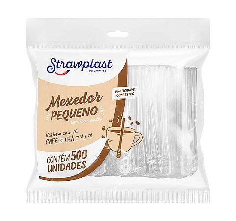 MEXEDOR PEQUENO 7,5CM CRISTAL PCT C/500