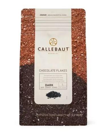Flakes 9D Meio Amargo Split Callebaut Granulado Belga 1 Kg