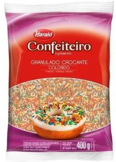 Granulado Confeiteiro Colorido Crocante 400 g