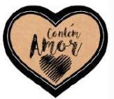 Adesivo Contém Amor Pct c/16