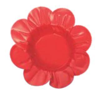 Forminha Miosotis Vermelha c/ 50un Decora Doces
