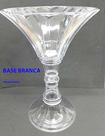 Taça Diamante Colonial Base Branca