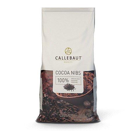 Nibs de Cacau Belga Callebaut 800g