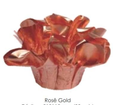 Forminha Perola Rose Gold c/30 Decora Doces