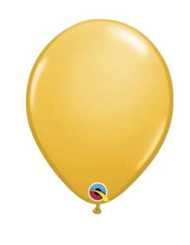 Balão Amarelo Ouro 9 polegadas Qualatex