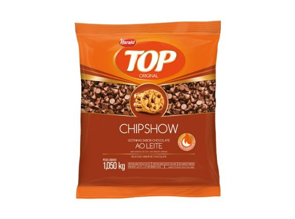 Chips Forneáveis Harald ChipShow Ao Leite 1,05Kg
