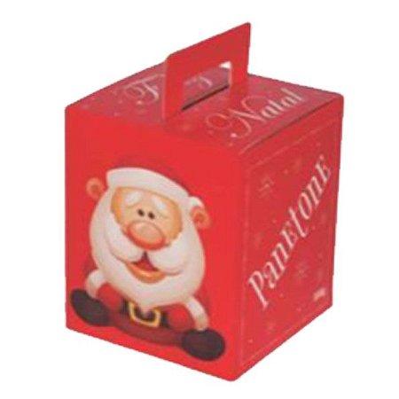 Caixa Panetone 250g Feliz Natal Fechada Pct c/10