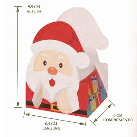 Cestinho Papai Noel Pct c/8