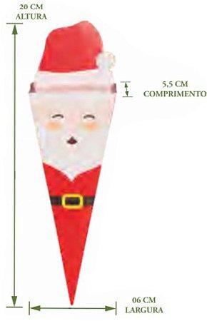 Cone Papai Noel Pct c/8