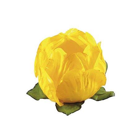 Forminha Princesa Amarelo Vivo c/30 Decora Doces