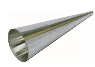 Canudo Cônico 8 cm p/ enrolar massa pct c/12